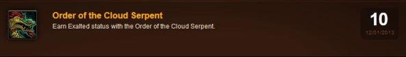 Cloud serpent achievement