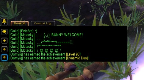 Bunny welcome